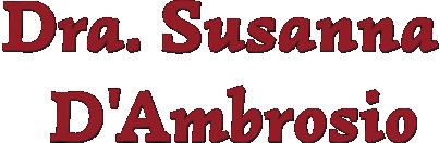 Doctora Susanna D'Ambrosio