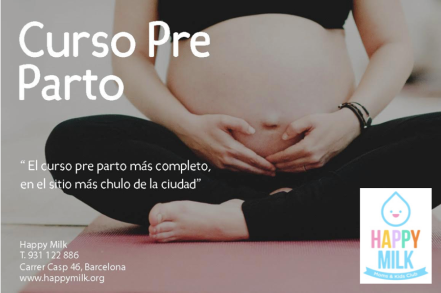 Curso pre parto en Happy Milk – Barcelona